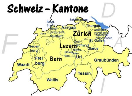Bundesland In Der Schweiz
